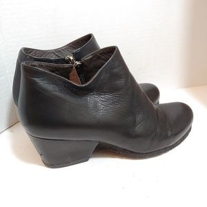 Anthro Audley of London leather ankle boots